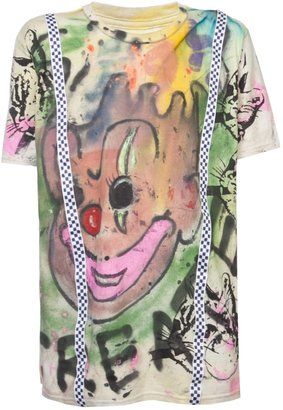 Scooter Laforge create clown t-shirt