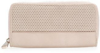 MANGO Perforated panel wallet