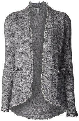Autumn Cashmere tweed open jacket