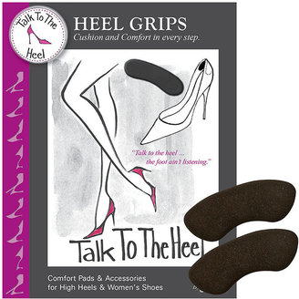 Braza Talk to the Heel Heel Grips, Black 1 ea