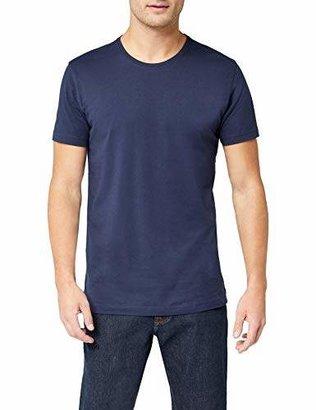 Signum Men's Basic T-Shirt 1/2 r-Neck 999902911 Weiß (Optical White 100)