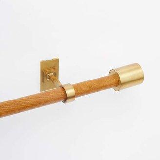 west elm Mid-Century Wooden Rod