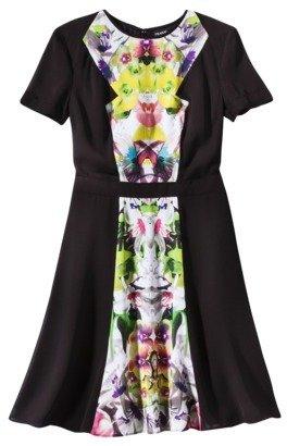 Prabal Gurung For Target® Short-Sleeve Dress in First Date Print