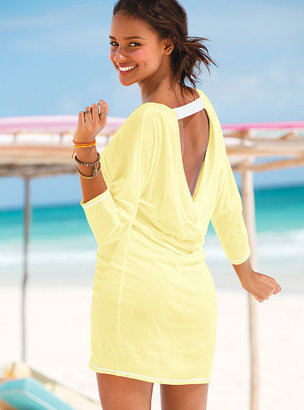 Victoria's Secret U-back Dolman-sleeve Dress
