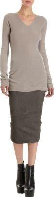 Rick Owens Tapered Skirt