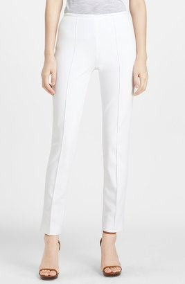 Michael Kors Skinny Stretch Cotton Twill Pants
