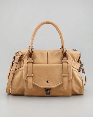 Kooba Kendal Leather Satchel Bag, Camel