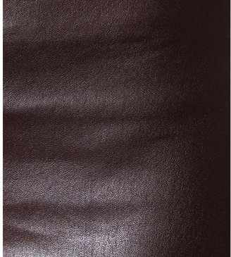 The Row Jellerton stretch-leather trousers