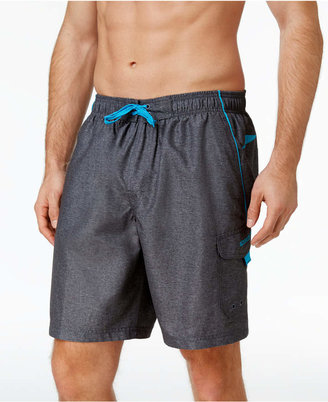 "Speedo Men's Performance Marina Swim Trunks, 9"" $42 thestylecure.com"