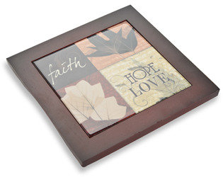 Bed Bath & Beyond Words to Live By Trivet - Faith Hope Love