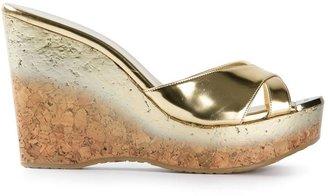 Jimmy Choo 'Perfume' wedge heels