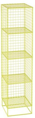 On the Grid 4-Cube Bookcase (Lime)