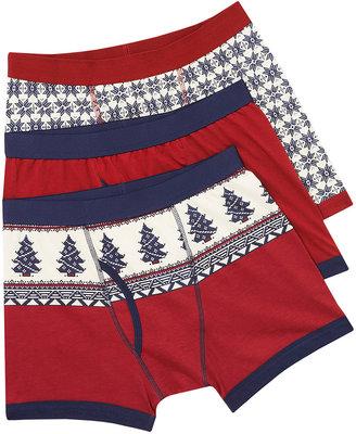 Topman Christmas Underwear 3 Pack