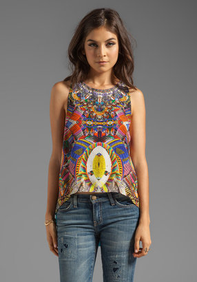 Camilla African Queen Sleeveless Top