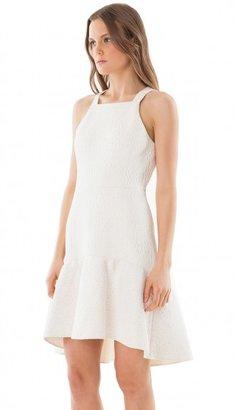 Tibi Cloque Dress
