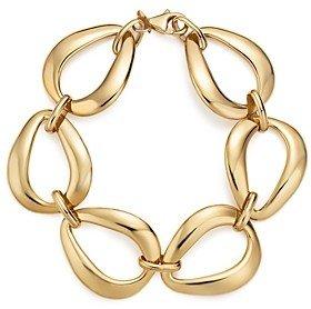 Bloomingdale's 14K Yellow Gold Pear Shape Link Bracelet - 100% Exclusive