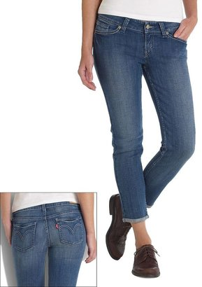Levi's cuffed skinny ankle jeans - juniors