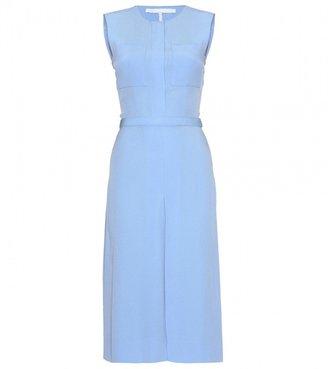 Victoria Beckham Victoria, BELTED MID-LENGTH DRESS