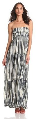 Velvet by Graham & Spencer Velvet Women's Rayna Strapless Maxi Dress