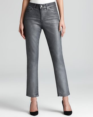 Miraclebody Jeans Sandra D. Coated Denim Skinny Ankle Jeans