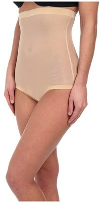 Wolford Tulle Control Panty High Waist (Nude) Women's Lingerie