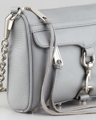 Rebecca Minkoff Mini MAC Crossbody Bag, Gray