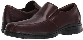 Dunham Blair Twin Gore Slip On (Black Smooth) Men's Flat Shoes