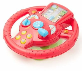John Lewis & Partners Interactive Steering Wheel Toy