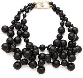 Kenneth Jay Lane Multi Strand Cluster Necklace