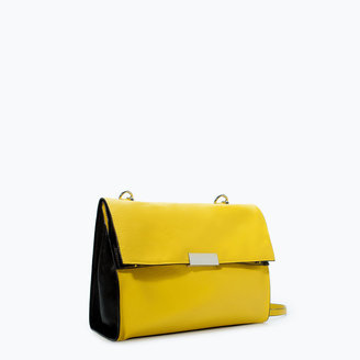 Zara Colored Messenger Bag