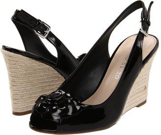 Franco Sarto Sudden (Black Patent) - Footwear