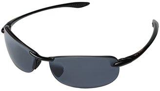 Maui Jim Makaha (Gloss Black/Neutral Grey Lens) Sport Sunglasses