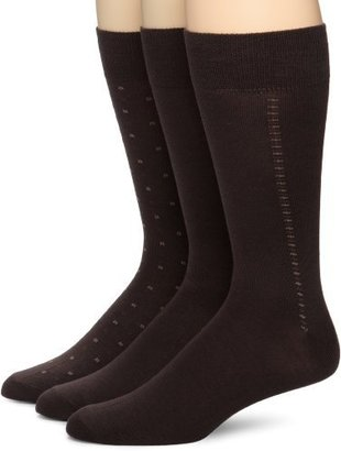 Kenneth Cole Men's All Over Dots 3 Pack Socks