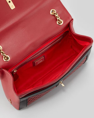 Christian Louboutin Sweet Charity Quilted Shoulder Bag, Red