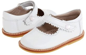 Elephantito Mary Jane (Toddler) (White) Girls Shoes