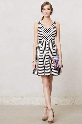 Anthropologie Striped Day Dress