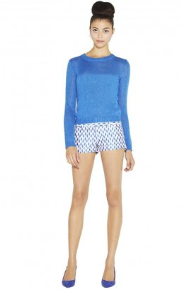 Alice + Olivia Cropped Short With Cuff