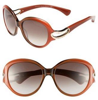 Alexander McQueen 56mm Retro Sunglasses