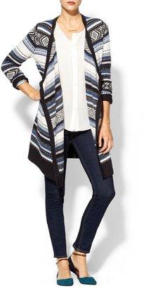 Juicy Couture Hive & Honey Fair Isle Blanket Sweater
