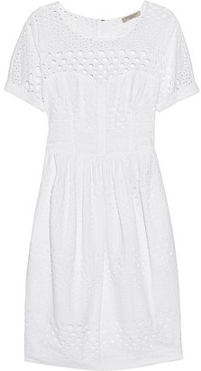 Burberry Broderie anglaise cotton dress