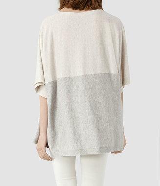 AllSaints Aura Panel T-shirt
