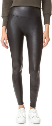 SPANX Ready to Wow Faux Leather Leggings $98 thestylecure.com