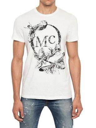 McQ by Alexander McQueen Mcqueen Butterfly Printed Jersey T-Shirt