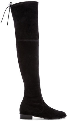 Stuart Weitzman Lowland Boot in Black $785 thestylecure.com