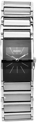 Rado Women's R20786159 Integral Black Dial Quartz Stainless Steel Watch