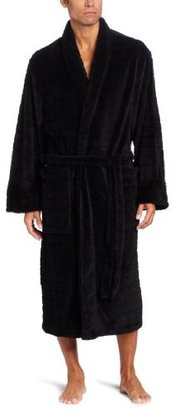 American Essentials Men's Luxurious Textured Spa Robe
