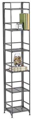Container Store 6-Shelf Iron Folding Tower