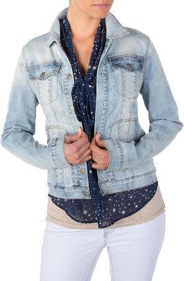 Jessica Simpson Pixie Blue Sunrise Denim Jacket Juniors