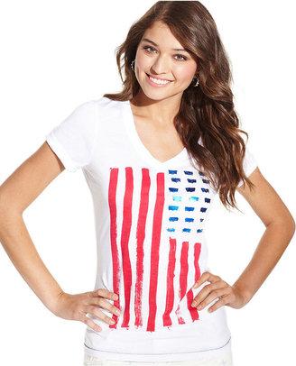 Levi's Tee, Short-Sleeve American Flag-Print