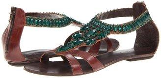 Mia Tigris (Brown/Emerald) - Footwear